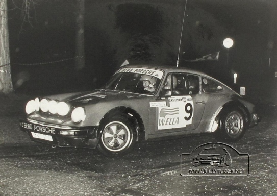 Jan Bak Anja Beltzer Amstrdam BP Rally 1983 (1)