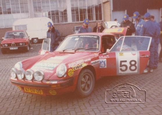 Jan Bak - Henk Bouwhuis ( DE VLO ) tulpenrally 1980 (11)