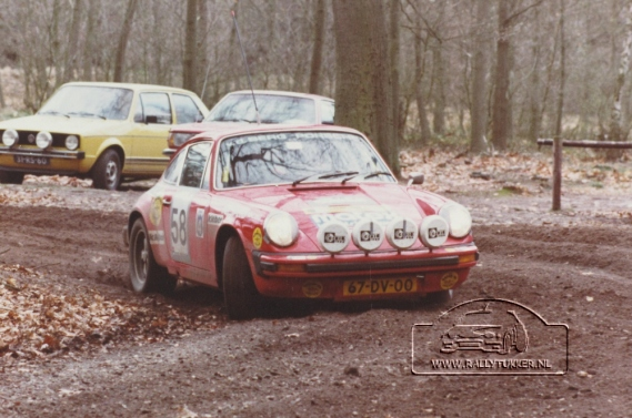 Jan Bak - Henk Bouwhuis ( DE VLO ) tulpenrally 1980 (16)