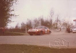 Jan Bak - Henk Bouwhuis ( DE VLO ) tulpenrally 1980 (2)