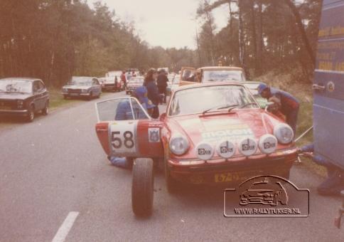 Jan Bak - Henk Bouwhuis ( DE VLO ) tulpenrally 1980 (6)