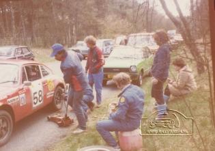 Jan Bak - Henk Bouwhuis ( DE VLO ) tulpenrally 1980 (7)