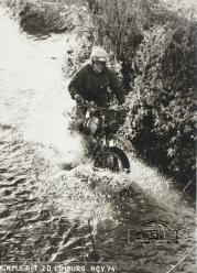 Jan Bak K.N.M.V. Rit ZD. Limburg nov 1974