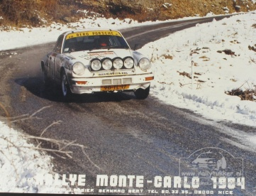Jan Bak - Bob Dickhout Monte Carlo 1984 (31)